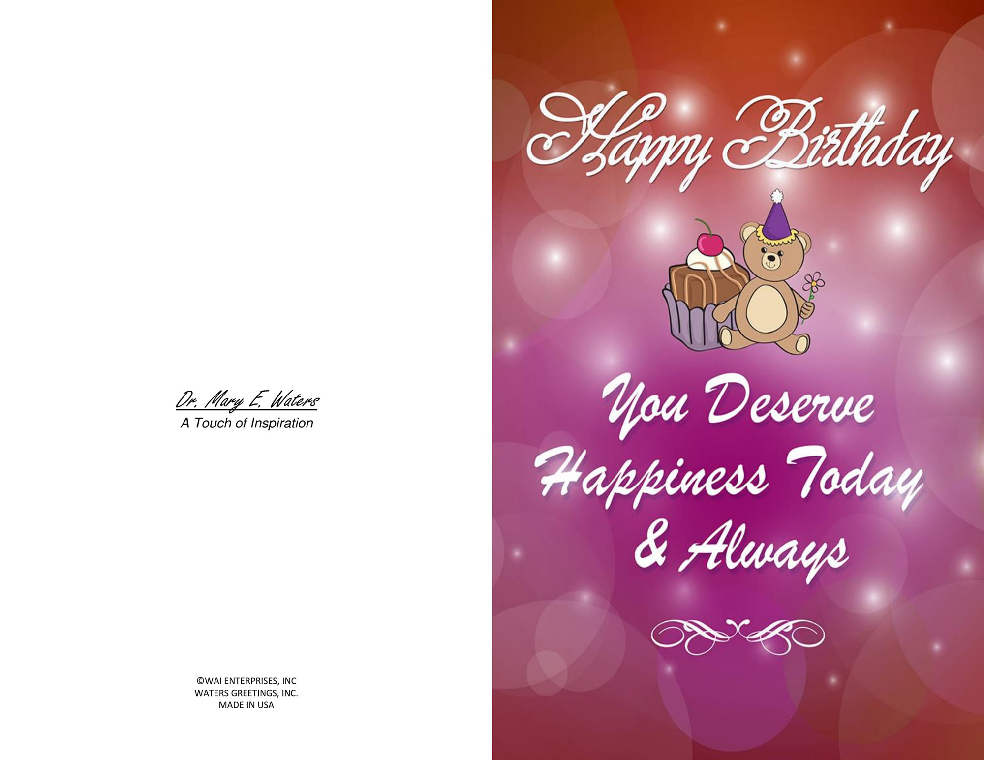 THREE Printable Birthday Cards Blank Inside 55 X 85 And 3