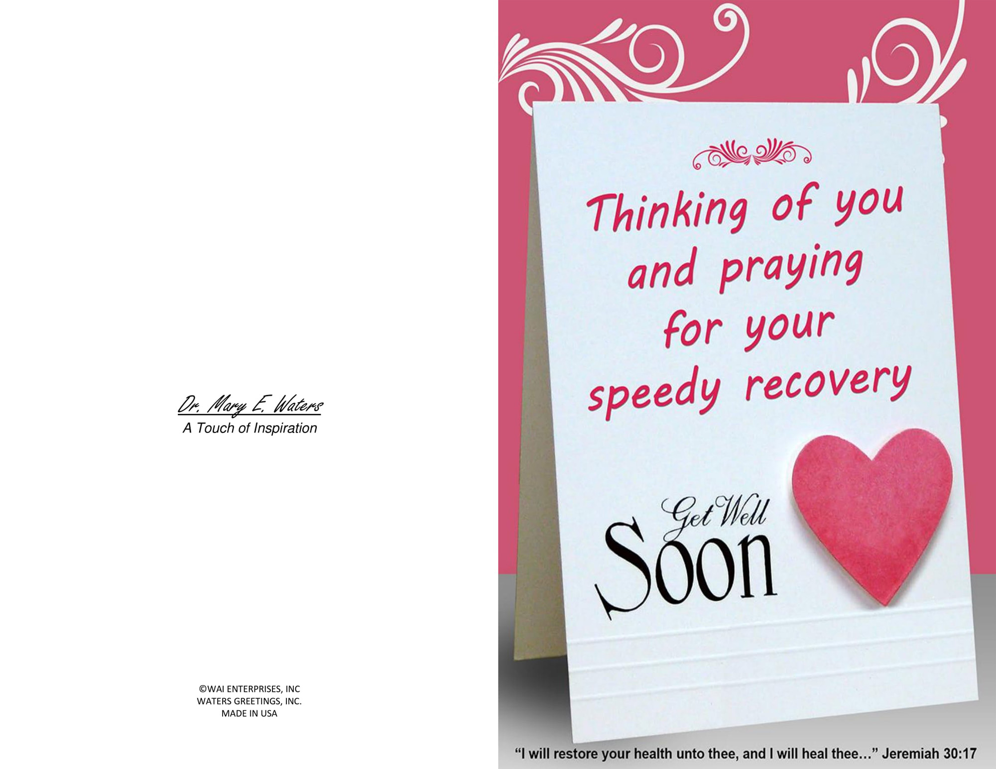 It is a graphic of Delicate Get Well Soon Printable