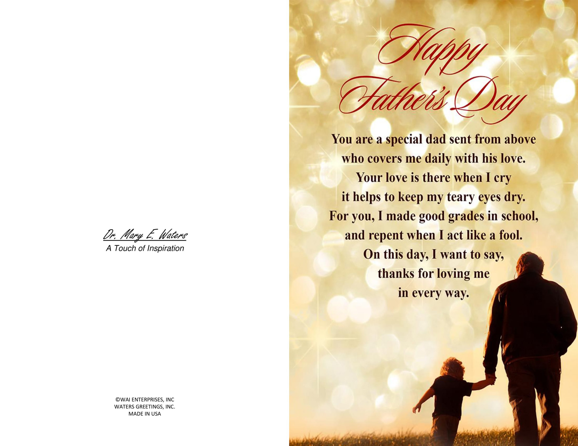 image regarding Happy Fathers Day Cards Printable named 2 Printable Joyful Fathers Working day Playing cards Blank in just, 5.5 x