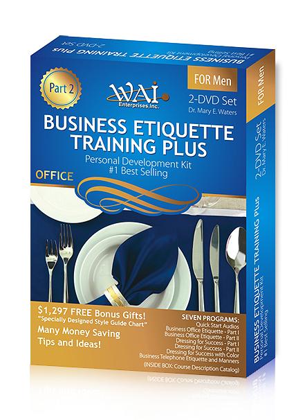 Business Etiquette Training Plus Part 2 (Men)